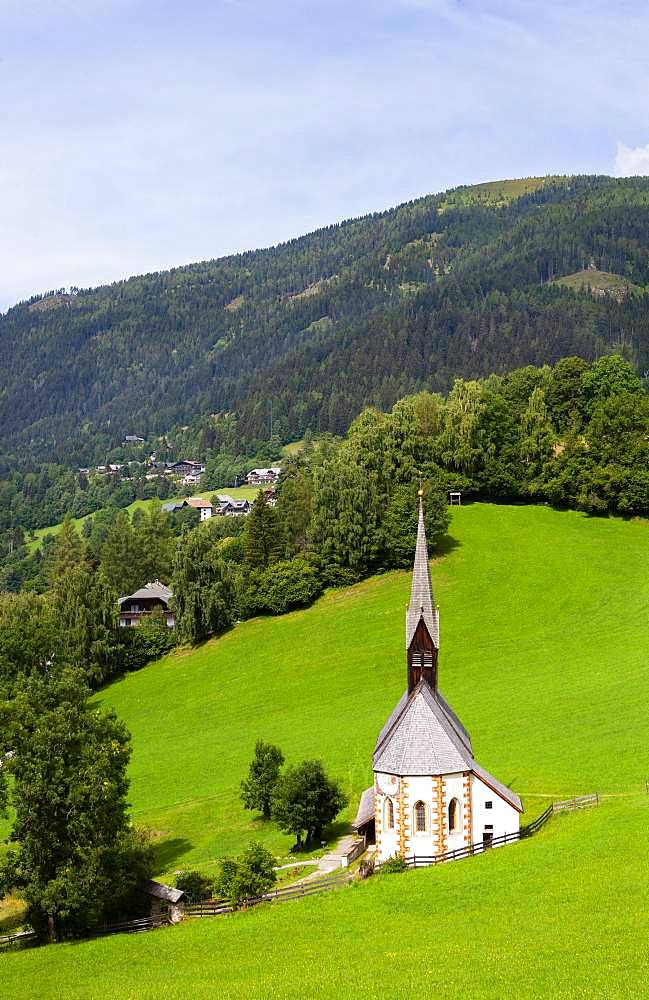 Church St. Catherine in the Bath, Bad Kleinkirchheim, Carinthia, Austria, Europe