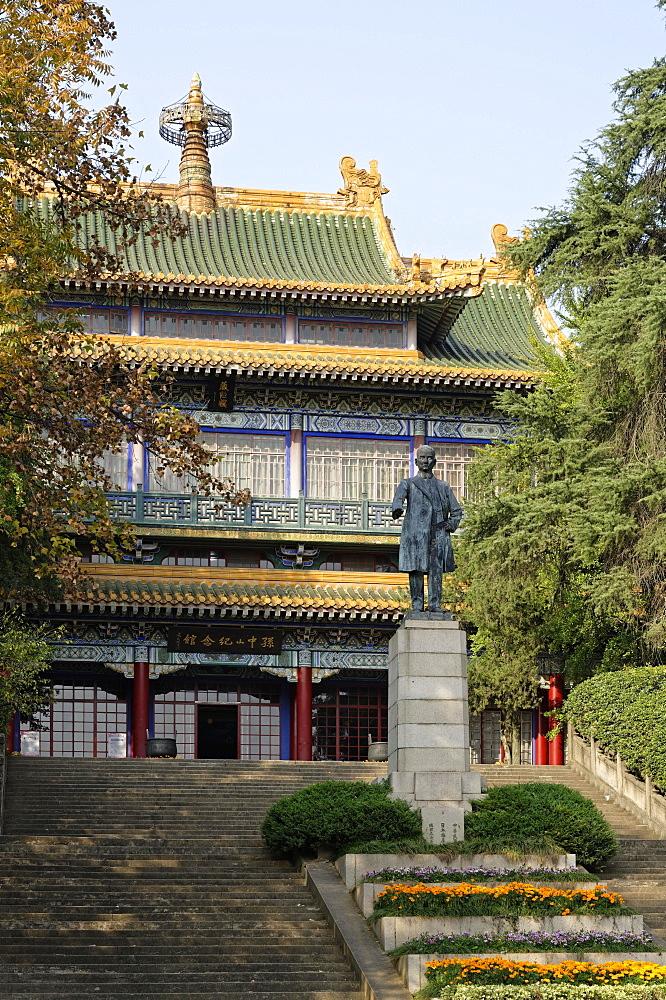 Sun Yat-sen Memorial, Monument, Huangma, Nanjing, Jiangsu Sheng, China, Asia