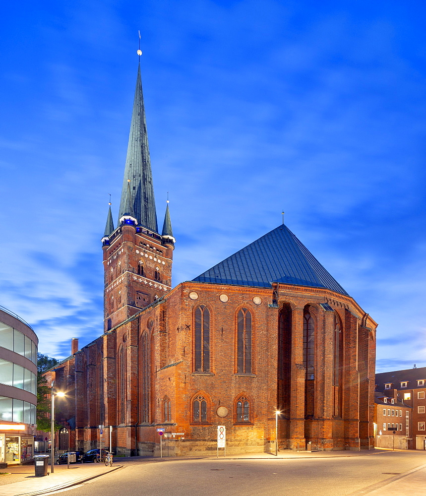St. Peter's Protestant Church, Old Town, Luebeck, Schleswig-Holstein, Germany, Europe