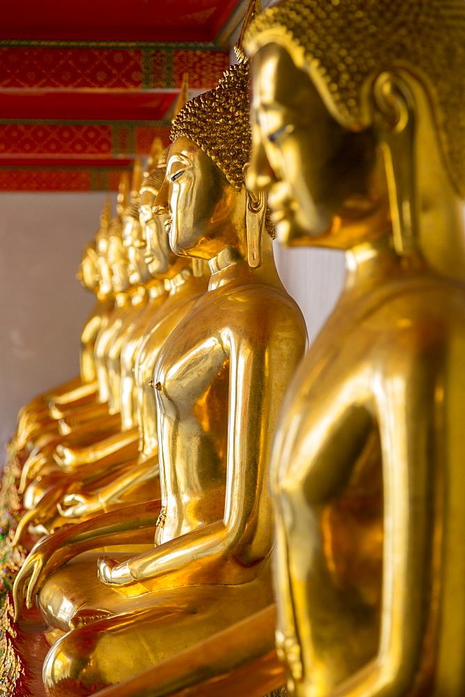 Wat Pho, Bangkok, Thailand, Southeast Asia, Asia