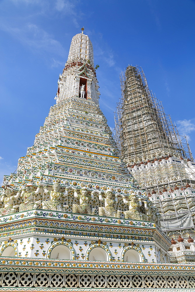 Wat Arun, Temple of Dawn, Bangkok, Thailand, Southeast Asia, Asia