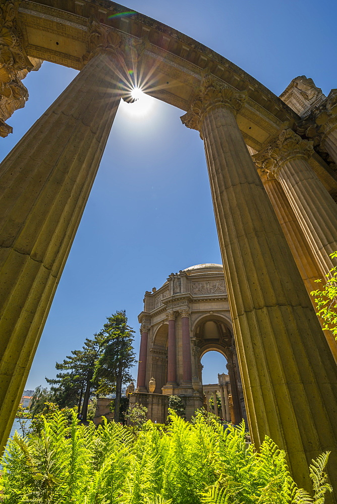 View of Palace of Fine Arts Theatre, San Francisco, California, United States of America, North America