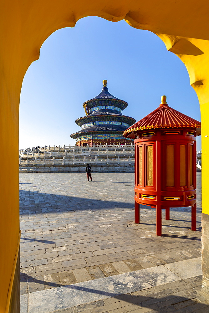 The Hall of Prayer for Good Harvests in the Temple of Heaven, UNESCO World Heritage Site, Beijing, People's Republic of China, Asia - 844-21861