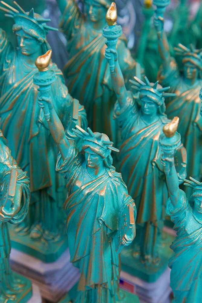Statue of Liberty souvenirs, New York, United States of America, North America
