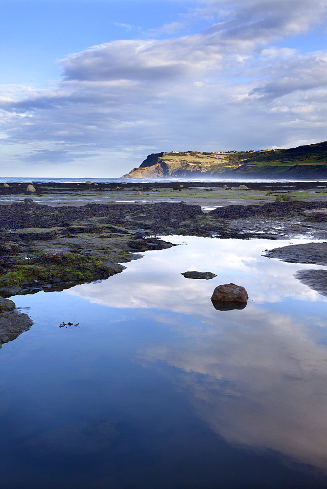 Ravenscar from Robin Hoods Bay, Yorkshire, England, United Kingdom, Europe - 845-991