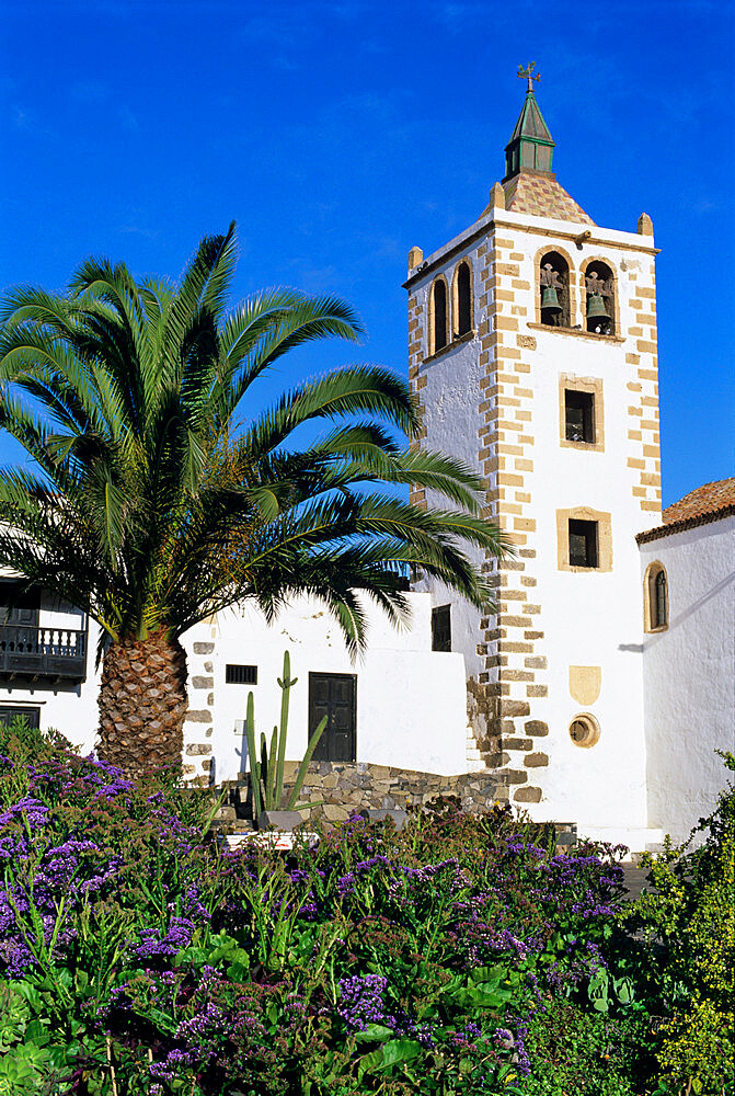 Betancuria church, Betancuria, Fuerteventura, Canary Islands, Spain, Europe - 846-392