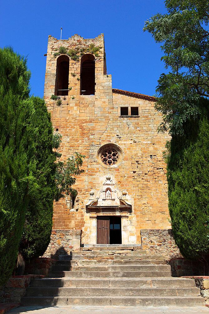 Sant Pere Church, Pals, Costa Brava, Catalonia, Spain, Europe - 846-712