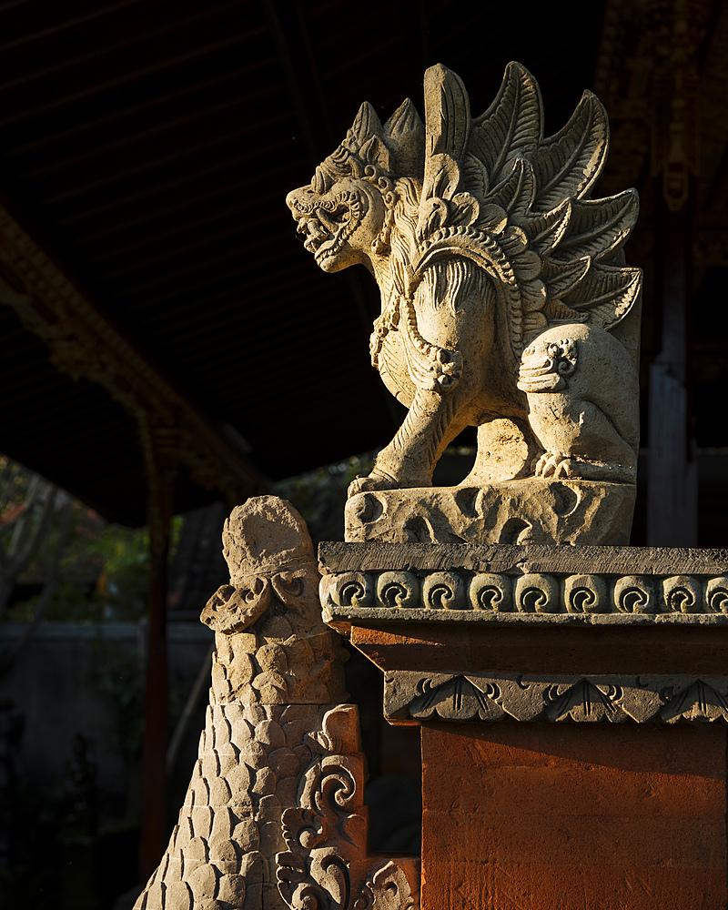 Ubud Palace, Ubud, Bali, Indonesia, Southeast Asia, Asia - 848-1885