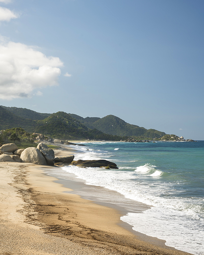 Tayrona National Park, Magdalena Department, Caribbean, Colombia, South America - 848-2148