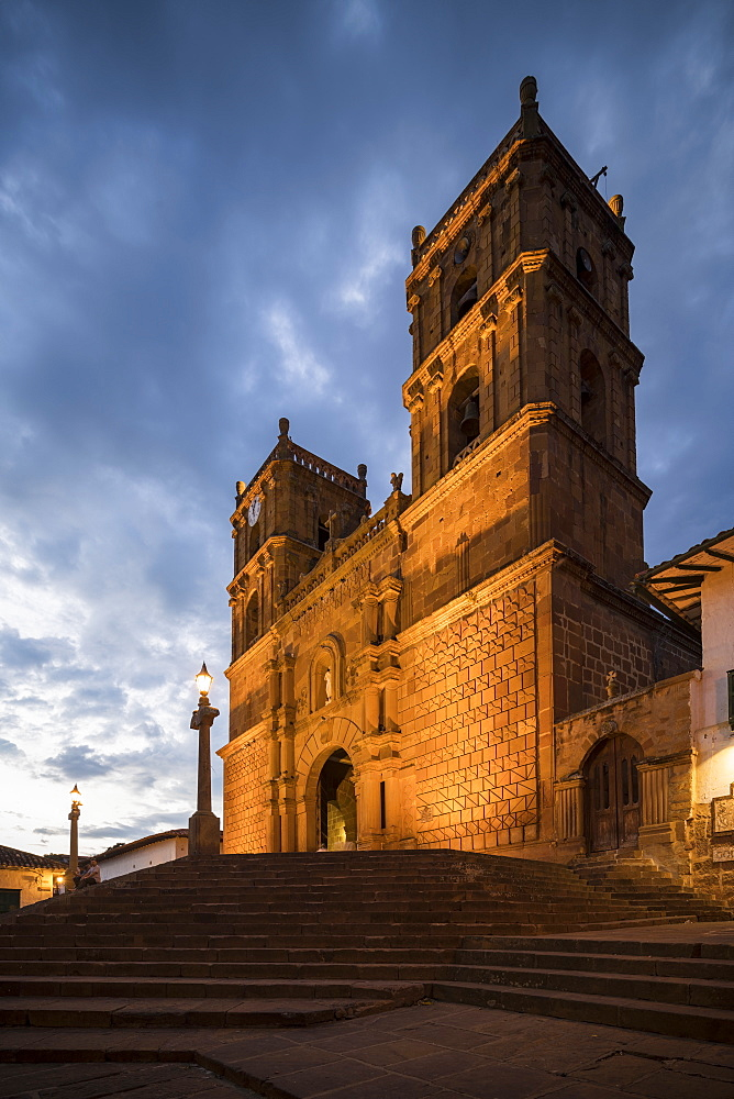 Cathedral of Barichara, Barichara, Santander, Colombia, South America - 848-2159