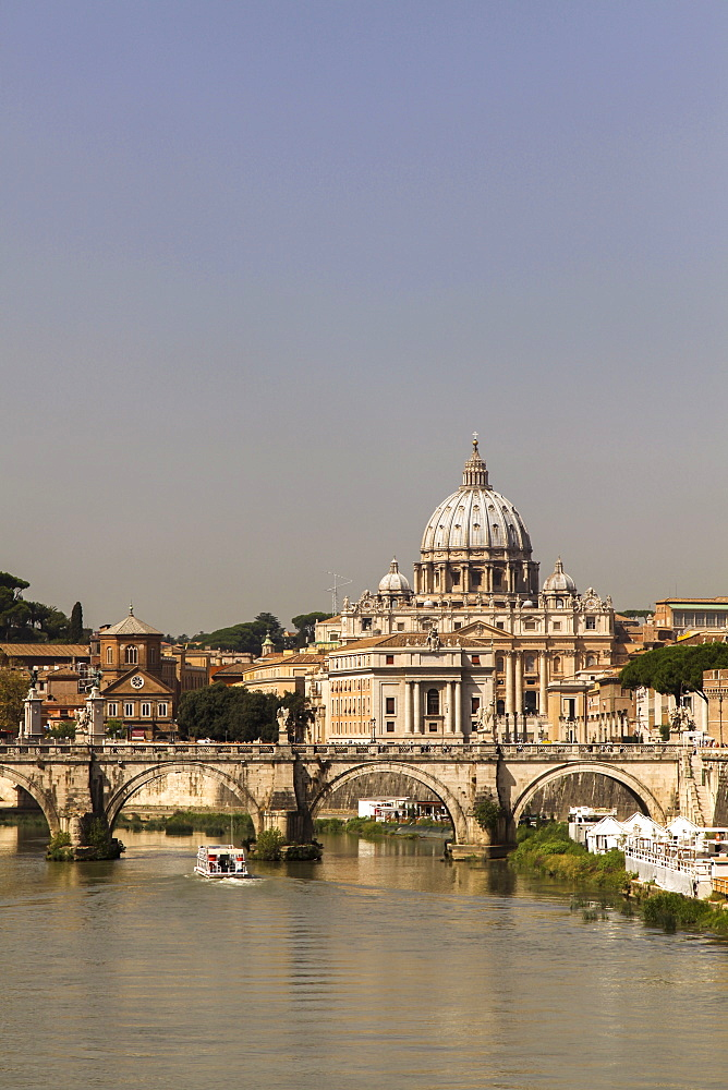 St. Peter's, Vatican City, Rome, Lazio, Italy, Europe - 851-550