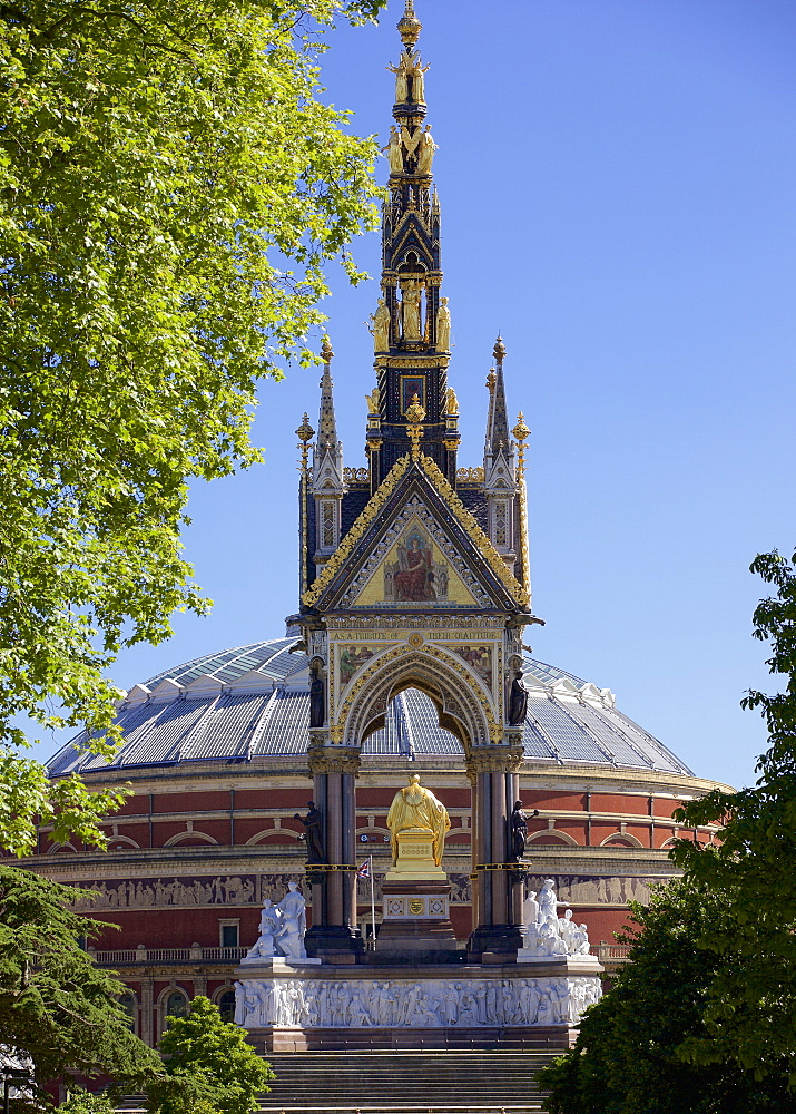 Albert Memorial in Kensington Gardens, London, England, United Kingdom, Europe - 851-613