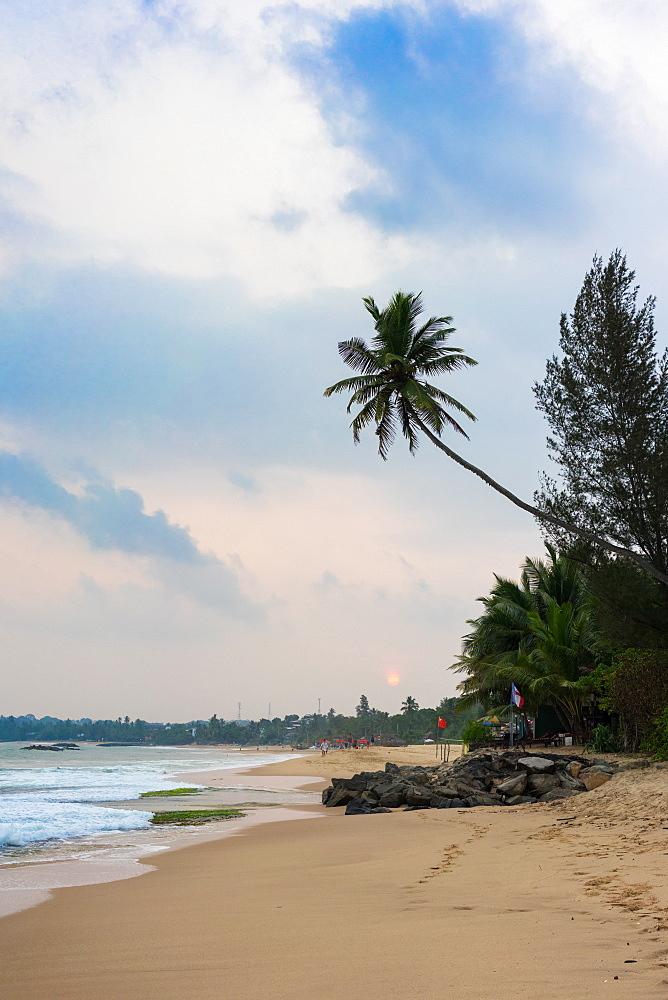 Tangalle Beach on the south coast of Sri Lanka, Asia