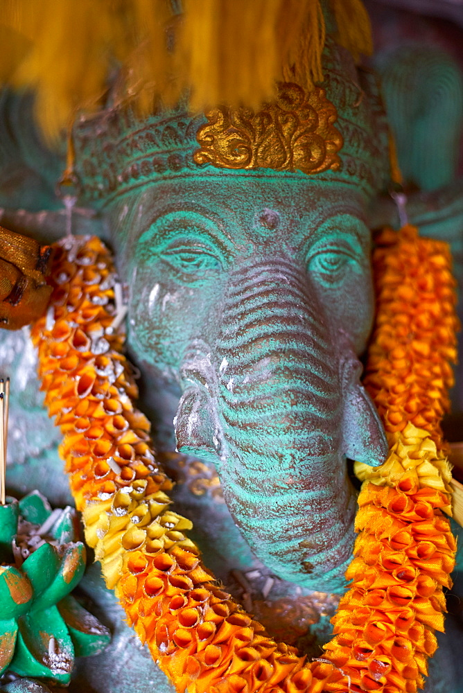 Decorated Ganesh statue in Ubud, Bali, Indonesia, Southeast Asia, Asia - 851-850