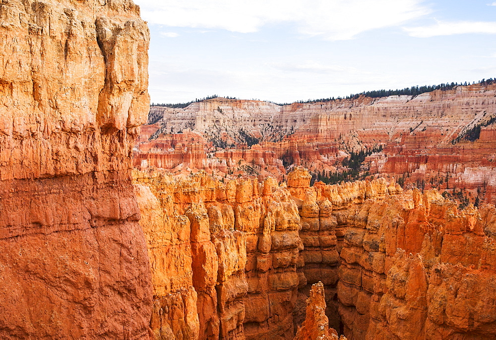 View of cliffs, Bryce Canyon, Utah