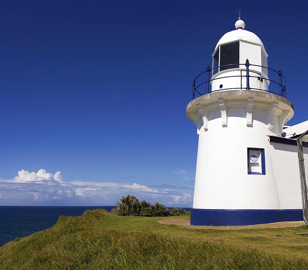 White lighthouse, Australia, New South Wales, Port Macquarie