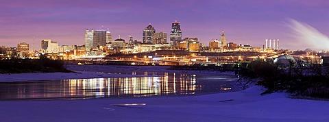 Sunrise panorama, Kansas City, Missouri