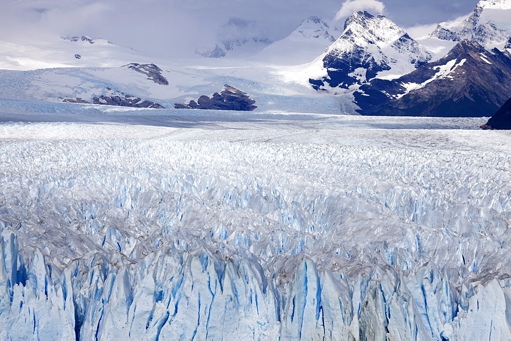 Scenic view of glacier, Chile