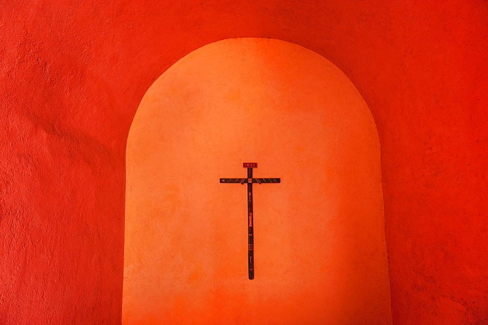 Valladolid, Crucifix on wall