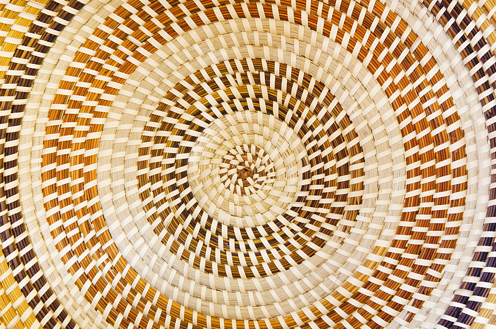 USA, South Carolina, Charleston, Sweetgrass basket pattern