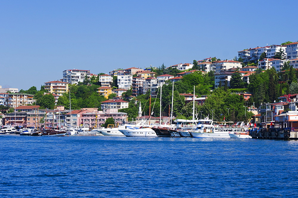 Turkey, Istanbul, Boats on the Bosphorus