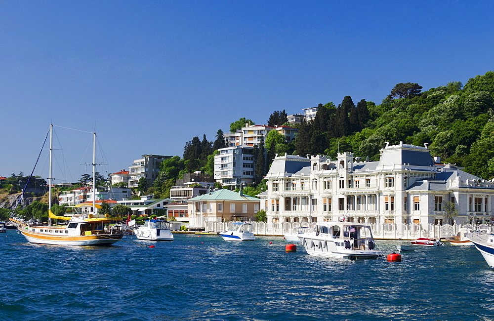 Turkey, Istanbul, Egyptian Consolate on the Bosphorus
