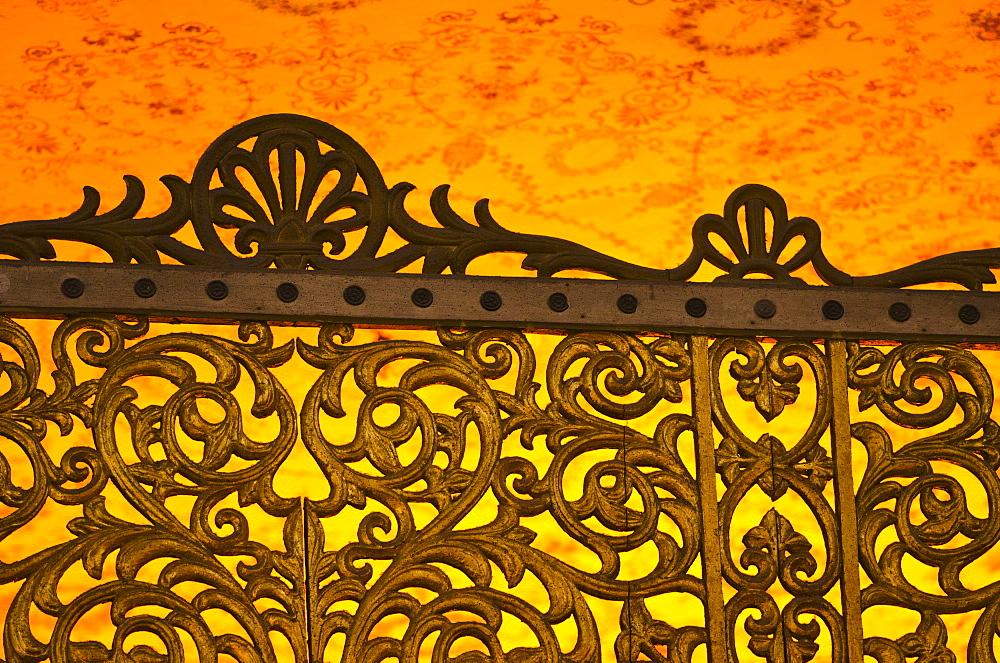 Turkey, Istanbul, Gate in Haghia Sophia Mosque