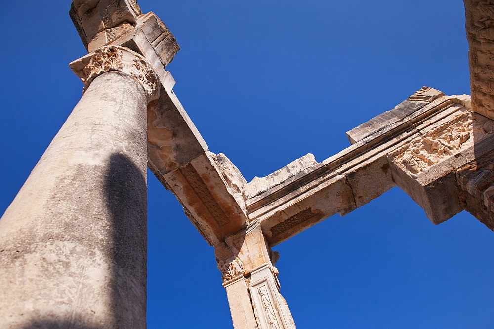 Turkey, Ephesus, Temple of Hadrian
