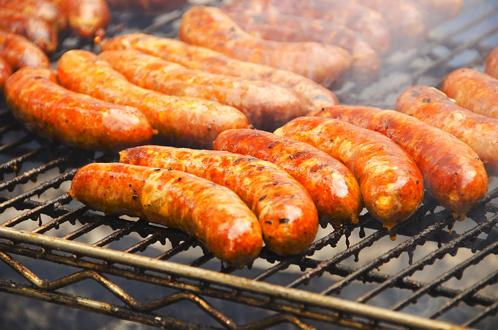 Sausages on barbeque - 1178-13901