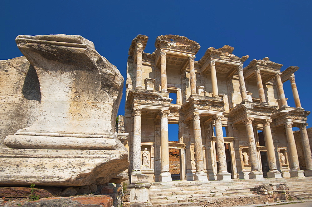 Turkey, Ephesus, Celsus Library - 1178-13909