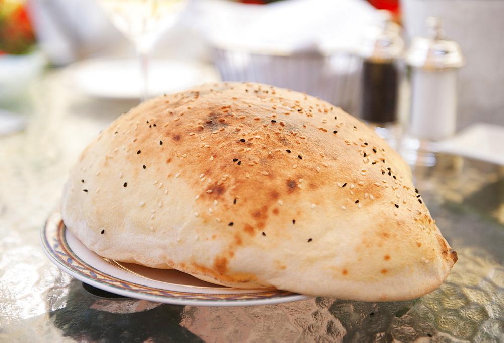 Turkey, Istanbul, Turkish Lavash bread