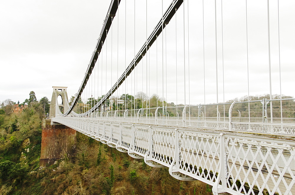 United Kingdom, Bristol, Cliffton Suspension Bridge