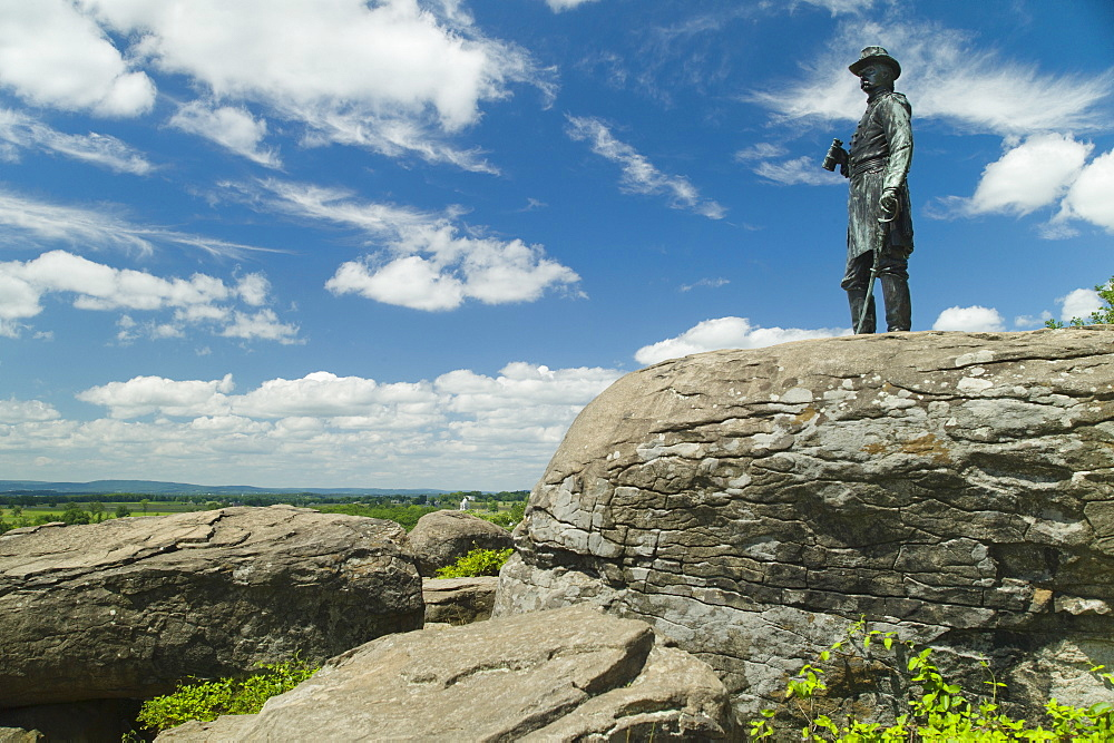 Statue at Gettysburg National Military Park