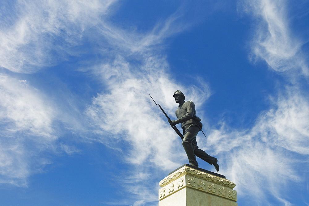 Minnesota memorial at Gettysburg National Memorial Park