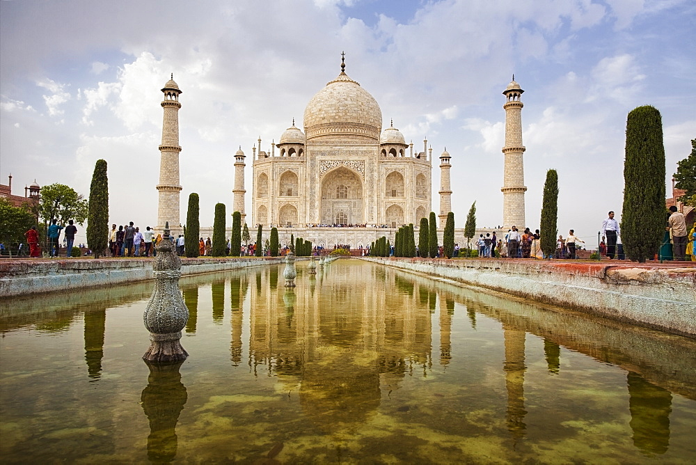 India, Uttar Pradesh, Agra, Taj Mahal, India, Uttar Pradesh, Agra, Agra Fort