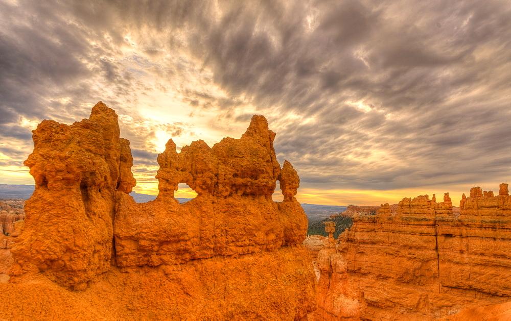 Rock formation, USA, Utah, Bryce Canyon