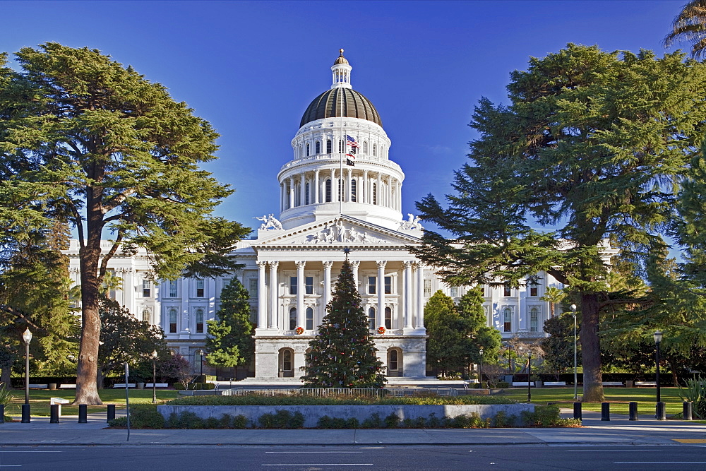 USA, California, Sacramento, California state capitol building, USA, California, Sacramento