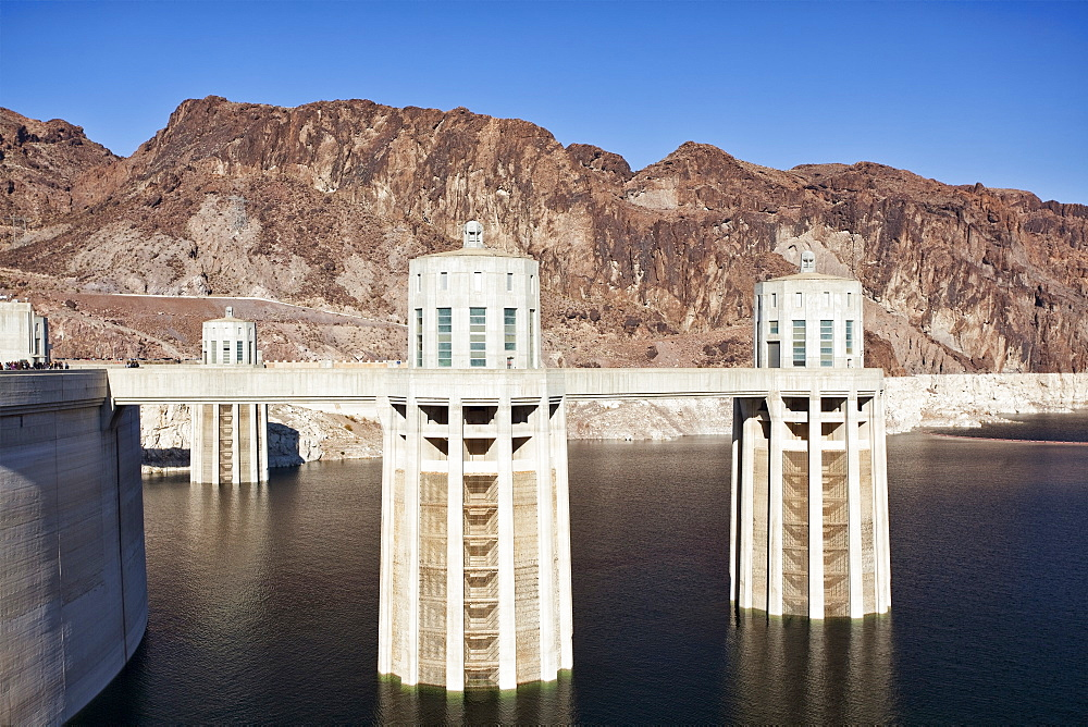 USA, Nevada, Boulder City, Hoover dam, USA, Nevada, Boulder City