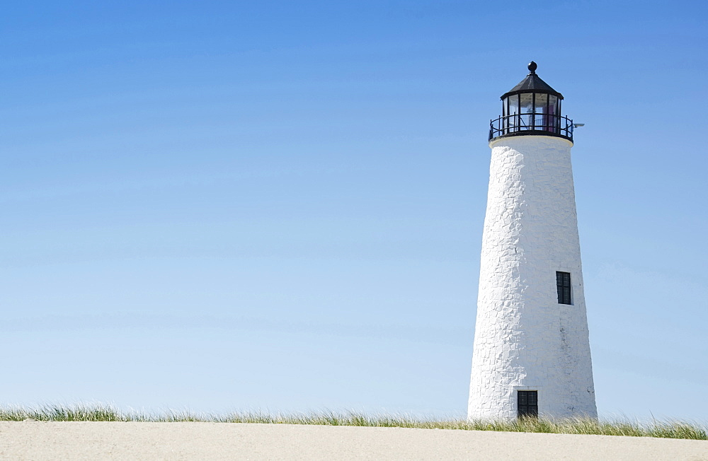 View of lighthouse, Nantucket, Massachusetts, USA