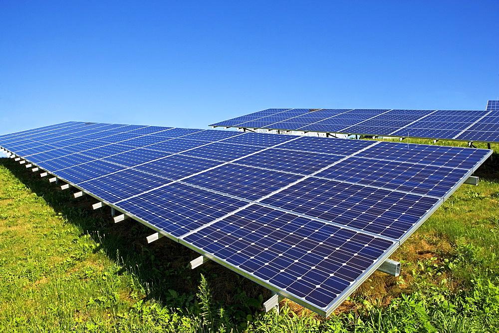 Death Valley, Solar panels
