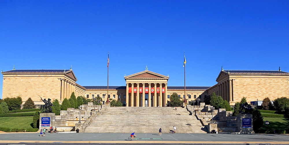 USA, Pennsylvania, Philadelphia, Philadelphia Museum of Art