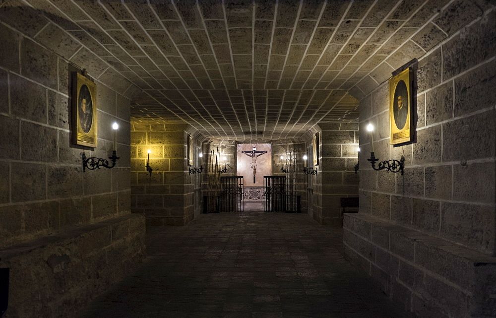 Interior of Cadiz Cathedral, Cadiz, Spain