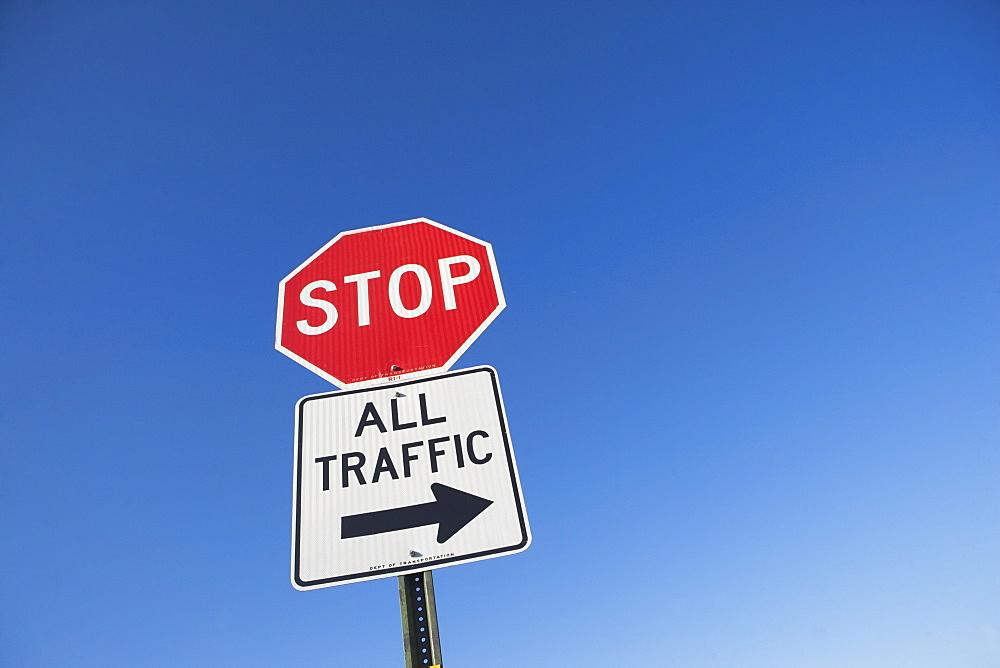 Traffic diversion sign