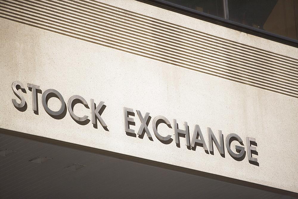 USA, Pennsylvania, Philadelphia, stock exchange