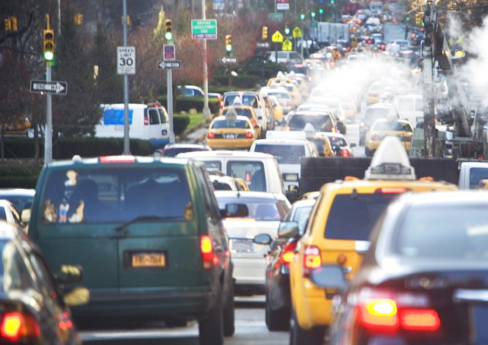 USA, New York state, New York city, traffic jam - 1178-21116
