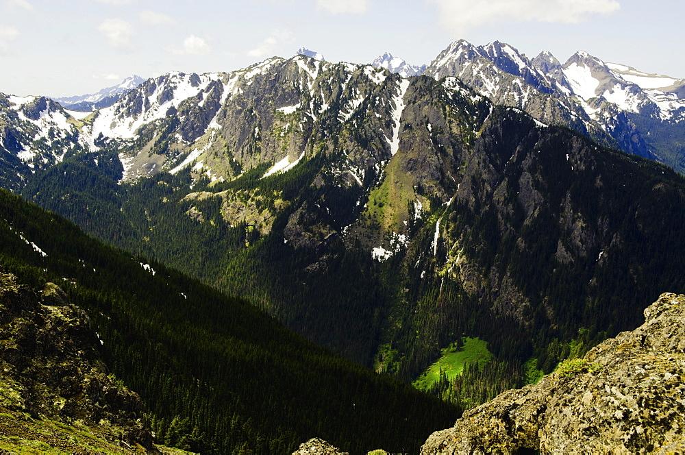 Mountain view, USA, Washington, Olympic Penninsula