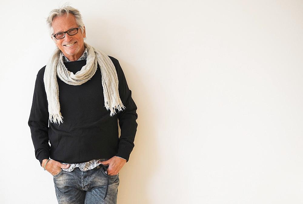 Portrait of fashionable senior man - 1178-23770