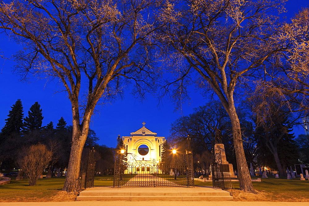 St Boniface Cathedral, Winnipeg Manitoba, Canada