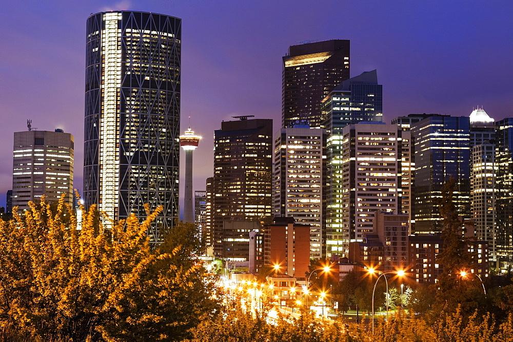 City skyline, Alberta, Canada
