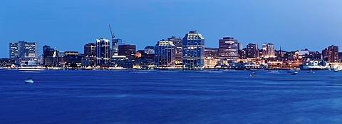Panoramic view of city, Nova Scotia, Canada